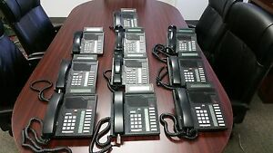 Nortel Meridian Northern Telecom Nt9k08ac03 Business Phone Lot 10phones