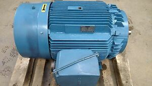 Siemens Dutymax 100 Hp 1185 Rpm Electric Motor Rgzead 445u Frame Automotive Duty