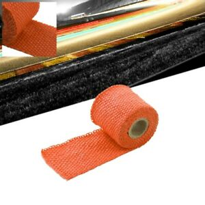 Orange 2 X 1 16x 5ft 60 T1 Exhaust Header Turbo Manifold Downpipe Heat Wrap