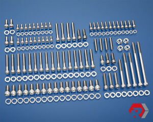 Ford 351w Stainless Bolt Kit Pre 77 Windsor Small Block Ford Driv Side H20 Inlet