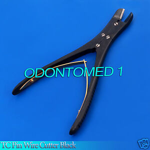 Tc Pin Wire Cutter Black Double Action Cns 7 Orthopedic Surgical Instruments
