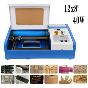 Ridgeyard 40w Co2 Laser Engraver Cutting Machine Crafts Cutter Usb 300x200mm