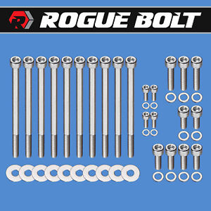 Ls1 Ls6 Intake Manifold Bolt Kit Stainless Steel Bolts Throttle By Cable Lsx