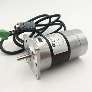 Leadshine Cnc Brushless Dc Servo Motor Encoder 90w 0 29nm 36vdc Blm57090 1000