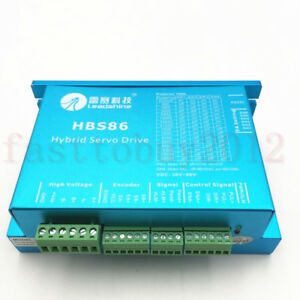 Leadshine Hbs86 es d808 Closed loop Stepper Drive Controller Match Nema23 24 34