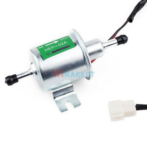 Newest Heavy Duty Gas Diesel Inline Low Pressure Electric Fuel Pump