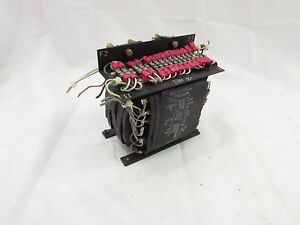 Bell Howell Spatron 521019a Tcs 20264 Transformer 500v 34pole xlnt