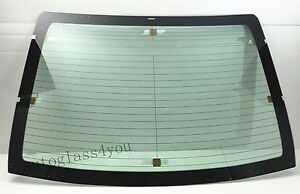 Heated Back Glass Rear Window W antenna For 2014 2019 Toyota Corolla 4 dr Sedan