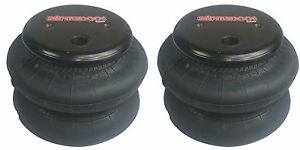 2 Standard 2600 Air Bags 1 2 Npt Port Air Ride Springs Bag Suspension Fbss