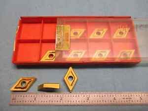 10pcs New Sandvik Dnmp 432 15 04 08 4035 Carbide Inserts Machine Tooling Shop