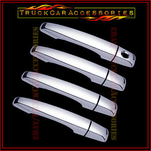 For Cadillac Cts 2008 2011 2012 2013 Chrome 4 Door Handle Covers W Out P Keyhole