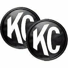 Kc Hilites 5400 Offroad Light Cover Black And White Vinyl Universal