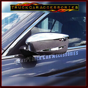 For Honda Accord 2008 2009 2010 2011 2012 Chrome 2 Full Mirror Covers Pair