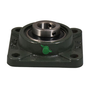 Ucfx07 22 1 3 8 Medium Duty 4 Bolt Flange Block Mounted Bearing Unit Fk Brand