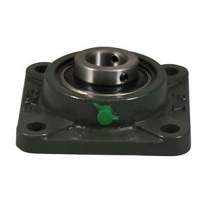Ucfx07 23 1 7 16 Medium Duty 4 Bolt Flange Block Mounted Bearing Unit Fk Brand