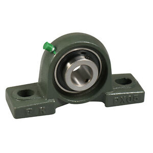 Ucpx10 30 1 7 8 Medium Duty Solid Base Pillow Block Bearing Unit Fk Brand