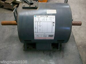 Century 3 1 5 Hp Electric Motor 6 372193 01 f3 New Old Stock W damage