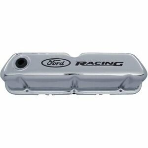 Proform 302 071 Valve Cover Chrome Stamped Steel Direct Fit