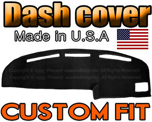 Fits 1989 1994 Toyota Pickup Dash Cover Mat Dashboard Pad Black