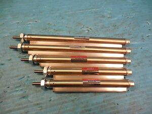 Lot Of 5 Bimba Pneumatic Cylinders Ipc M 012 5 t2 2pcs M 012 t2