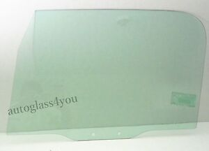 For 97 06 Jeep Wrangler Tj 2 dr Utility Front Door Window Glass Driver left Side