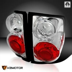For 1994 2004 Chevy S10 Gmc Sonoma Clear Tail Lights Brake Reverse Lamps Pair