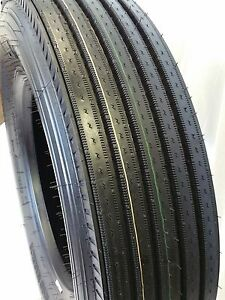 2 Tires 295 75r22 5 600 Road Warrior 600 New Steer Tires 16 Ply 295 75 R22 5