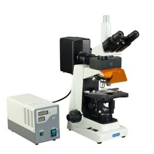 Omax 40x 1600x Advance Epi fluorescence Trinocular Biological Lab Microscope