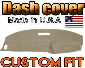 Fits 1989 1994 Ford Ranger Dash Cover Mat Dashboard Pad Beige