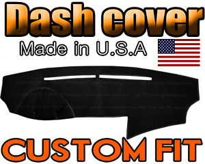 Fits 2009 2010 Hyundai Sonata Dash Cover Mat Dashboard Pad Black