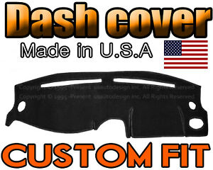 Fits 1995 1999 Hyundai Accent Dash Cover Mat Dashboard Pad Black