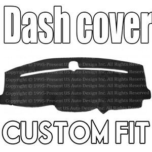 Fits 2011 2018 Jeep Grand Cherokee Dash Cover Mat Dashboard Pad Black