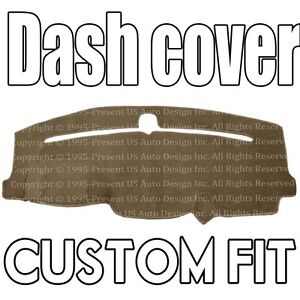 Fits 2011 2019 Jeep Grand Cherokee Dash Cover Mat Dashboard Pad Taupe