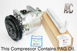 A C Compressor Kit For Nissan Frontier Xterra 2003 2004 3 3l W Out Supercharge