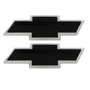 All Sales Mfg 96127kp Chevrolet Bow tie Grille tailgate Emblem Set For Silverado