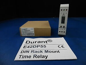 Durant E42dp55 Battery Operated Timer Multifunction 1 Set Point Din Rail