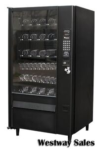 Automatic Product Ap Lcm 3 Glass Front Snack Merchandiser Vending Machine