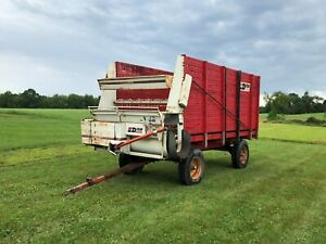 Dion 1016se Self unloading Box Wagon Forage Silage