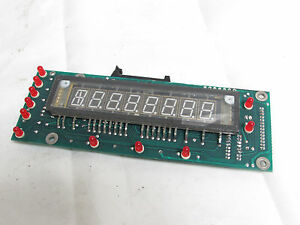 Weigh tronix D19532 Rev F Display Circuit Board Assembly xlnt