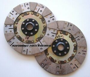 Replacement Disc Set Only For Mcleod Rxt Twin Clutch 26 Spline