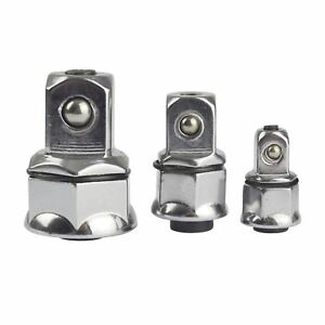 Spanner Wrench Gear Ratchet Ring Socket Adapters 1 4 3 8 1 2 At738