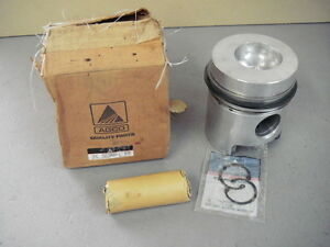 Agco 72218668 9 Bnm Piston Kit 100 00 Mm Wrist Pin Rings And Clips Same 30484