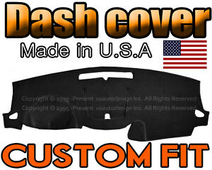 Fits 2013 2017 Chevrolet Traverse Dash Cover Mat Dashboard Pad Black