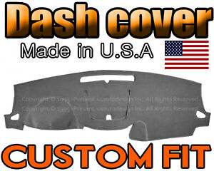 Fits 2013 2017 Chevrolet Traverse Dash Cover Mat Dashboard Pad Charcoal Grey