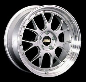 Bbs 19 X 10 Lmr Car Wheel Rim 5 X 120 Part Lm327dspk