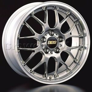 Bbs 19 X 8 5 Rsgt Car Wheel Rim 5 X 130 Part Rs976dbpk