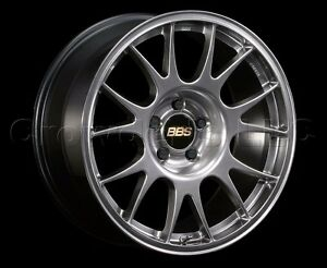 Bbs 18 X 8 Re Car Wheel Rim 5 X 100 Part Re875dbk