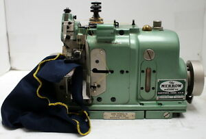 Merrow Mg 4d 45 1 needle 2 th Adjustable Pearl Stitch Industrial Sewing Machine