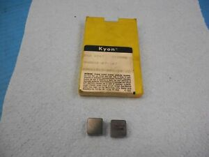 8pcs New Kennametal Sng 454t Ky2000 Sngn 12 07 16 T Carbide Inserts Machine