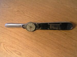 Snap on Torq Meter Inch pounds Torquemeter Tq 5o a